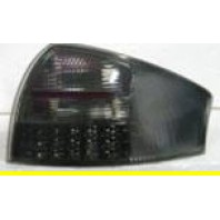 Audi a6 Фонарь задний внешний левый+правый (КОМПЛЕКТ) тюнинг (СЕДАН) с диодным стоп сигналом полностью тонированный