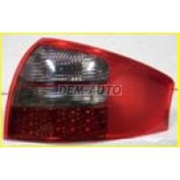 Audi a6 Фонарь задний внешний левый+правый (КОМПЛЕКТ) тюнинг (СЕДАН) с диодным стоп сигналом тонировано-красный