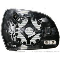 Audi a4 {a3/a5/a8 08- /a6 09-}  Стекло зеркала левое с подогревом (aspherical)