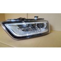 Audi q3 Фара левая линзованная , с регулирующим мотором , (КСЕНОН)