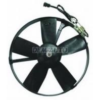 E34 Мотор+вентилятор конденсатора кондиционера