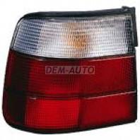 E34 Фонарь задний внешний правый (DEPO) бело-красный