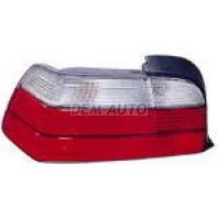 E36 Фонарь задний внешний левый (КУПЕ) (кабриолет) бело-красный