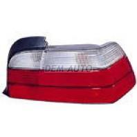 E36 Фонарь задний внешний правый (КУПЕ) (кабриолет) бело-красный