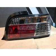 E36 Фонарь задний внешний левый+правый (КОМПЛЕКТ) (КУПЕ) (кабриолет)диодный стоп сигнал,указатель поворота хрустальный (SONAR)красно-хромированный