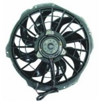 E36 Мотор+вентилятор конденсатора кондиционера с корпусом