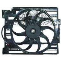 E38 Мотор+вентилятор конденсатора кондиционера с корпусом