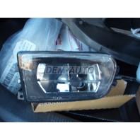 E39  Фара противотуманная левая(DEPO) прозрачная