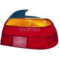 E39  Фонарь задний внешний правый красно-желтый