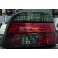 E39  Фонарь задний внешний левый+правый (комплект) прозрачный хрустальный красно-тонированный {дизайн под LED}