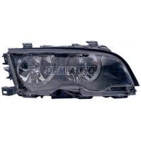 E46 Фара правая с корректором внутри черная