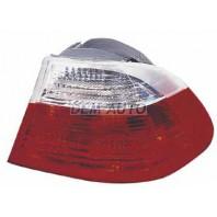 E46 Фонарь задний внешний правый красно-белый