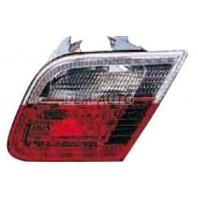 E46 Фонарь задний внутренний правый красно-белый
