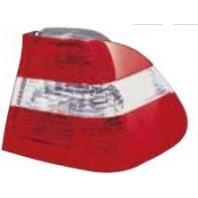 E46 Фонарь задний внешний правый (СЕДАН) красно-белый