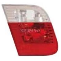 E46 Фонарь задний внутренний левый (СЕДАН) красно-белый