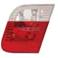 E46  Фонарь задний внутренний правый (СЕДАН) красно-белый