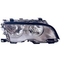 E46 Фара правая с регулировочным мотором внутри хром