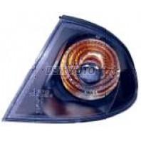 E46  Указатель поворота угловой левый+правый (КОМПЛЕКТ) (СЕДАН) тюнинг прозрачный хрустальный внутри хромированная