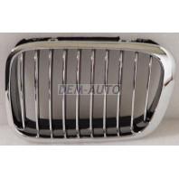 E46  Решетка радиатора левая тюнинг дизайнZ4 (Италия) хромированная-черная