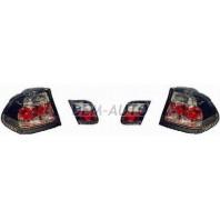 E46  Фонарь задний внешний+внутренний левый+правый (комплект) (СЕДАН)тюнинг прозрачный хрустальный тонированный