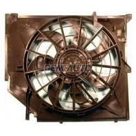 E46 {318}  Мотор+вентилятор радиатора охлаждения с корпусом