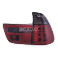 X5 Фонарь задний внешний+внутренний левый+правый (комплект) тюнинг прозрачный тонированный (SONAR) внутри красно-белый