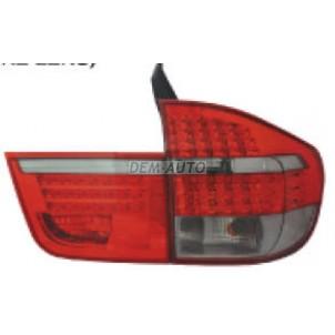 X5 Фонарь задний внешний+внутренний левый+правый (комплект) тюнинг диодный внутренний+внешний (EAGLE EYES) красно-тонированный