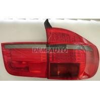 X5 Фонарь задний внешний+внутренний левый+правый (комплект) тюнинг с диодами внешними красно-тонированный