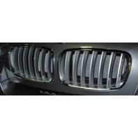 X6 Решетка радиатора левая+правая (комплект) хромированно-серая