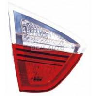 E90  Фонарь задний внутренний левый красно-белый