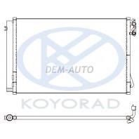 E90 Конденсатор кондиционера (KOYO) на BMW - E90 седан / E91 универсал