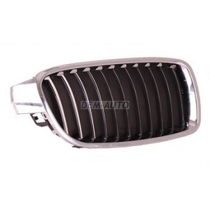 F30  Решетка радиатора правая хромированная-черная