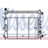 Escort {escort 96-} Радиатор охлаждения (NISSENS) (NRF) (GERI) (см.каталог)