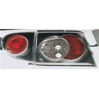 Escort Фонарь задний внешний+внутренний, левый+правый (комплект) тюнинг (седан) прозрачный (SONAR) внутри черный на Ford Escort