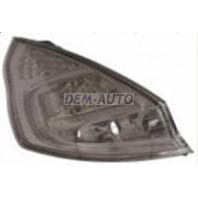 Fiesta  Фонарь задний внешний левый+правый (комплект) (5 дв), тюнинг, хрустальный, с диодами, внутри хромированный, стекло тонированное
