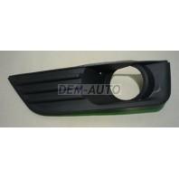 Focus Решетка бампера передняя левая с отверстием под противотуманки (Китай) на Ford Focus - II поколение