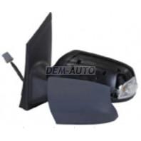 Focus Зеркало левое электрическое с подогревом с указателем поворота (CONVEX) грунтованное