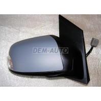 Focus Зеркало правое электрическое с подогревом, с указателем поворота (CONVEX) грунтованное на Ford Focus - II поколение
