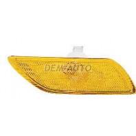 Focus Фонарь-катафот правый в бампер (USA) желтый