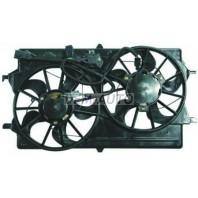 Focus Мотор+вентилятор радиатора охлаждения двухвентиляторный в сборе (USA)