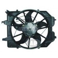 Focus Мотор+вентилятор радиатора охлаждения в сборе 1.4 1.6 механика без кондиционера
