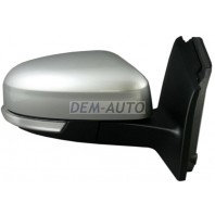 Focus Зеркало правое электрическое с подогревом , с указателем поворота, автоскладывающееся , с подсветкой с 10 конт темпер датчик (ASPHERICAL) грунтованное