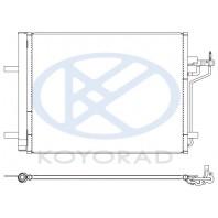 C-max {grand c-max 10-}  Конденсатор кондиционера (KOYO)