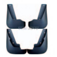 Mondeo  Брызговик переднего крыла левый+правый (комплект) + задние (4 штуки) (Китай) короткие