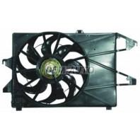 Mondeo  Мотор+вентилятор конденсатора кондиционера с корпусом механика