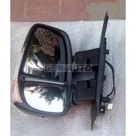 Iveco daily  Зеркало левое электрическое с подогревом , с указателем поворота , температурный датчик 2 разъём. , 9 конт , короткий кронштейн , (CONVEX)