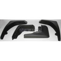 Freelander брызговик переднего крыла левый+правый (комплект) + задний (4 штуки)