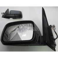 Зеркало левое электрическое с подогревом, автоскладыванием, температурным датчиком, подсветкой, памятью, 2 разъёма, 15 контактов (aspherical) RANGE ROVER {III}
