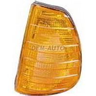 W123  Указатель поворота угловой левый желтый
