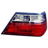 W124 Фонарь задний внешний левый+правый (комплект)тюнинг прозрачный хрустальный тонированно-красный